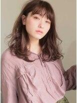 キース ヘアアンドメイク(kith. hair&make)恵比寿kith.本田×小顔  耳かけ 大人可愛い