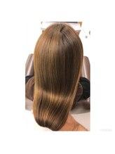 ヘアー エステティック サロン オハナ(Hair Aesthetic Salon OHANA)OHANA推薦のホームケア商品を正しく使用しただけでこの輝き