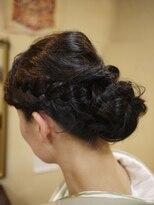 キーナ(Organic Hair KI-NA)着物でも艶やか編み込み