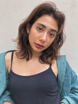 アンク クロス 原宿店(ANKH CROSS)の写真/毛先のトリミングや、メンテナンスカットで毛先までまとまる☆最旬を仕込んだお洒落深みカラーに着替えて。