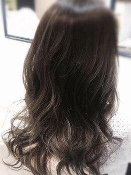 チェルマ(Cieluma)の写真/透け感・柔らかさのある艶髪に!明るい色もダメージレス&発色◎ハイライト/グラデーションでオシャレヘア★