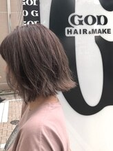 ゴッド ヘアーアンドメイク 高崎西口店(GOD Hair & Make)