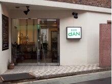 ダン美容室(dAN)の雰囲気(緑と白の看板が目印です☆)