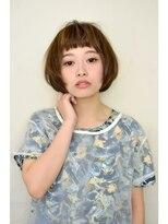 オブヘアー 鷺沼店(Of HAIR)シンプルマッシュボブ☆
