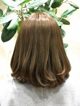 ミエル ヘア(miel HAIR)の写真/【ステキに重ねるオトナヘアー♪】貴方に似合う魅せるカラーでカバーして、お洒落に…♪素敵に…☆