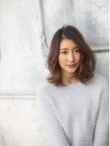 モニカ 横須賀中央店(Monica)無造作パーマ☆外はねミディ【横須賀中央】