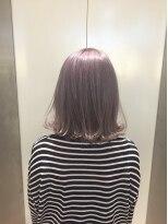 ヘアサロン ドット トウキョウ カラー 町田店(hair salon dot. tokyo color)【White lavenderpink10】ダブルカラーカラーリスト田中【町田】