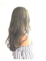 ヘアメイク オブジェ(hair make objet)ハイトーンオリーブベージュ