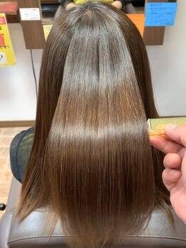 ミラクル アームズ シン(miracle arm`s Sin)の写真/【本気の髪質改善】年齢やカラーで髪にハリやコシが…とお悩みのあなたに是非!