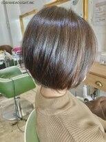 フローレス バイ ヘッドライト 三鷹店(hair flores by HEADLIGHT)30代40代人気■スリーク美フォルムショートボブ