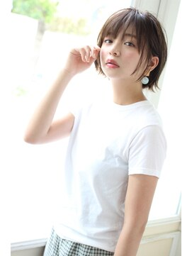アンアミ オモテサンドウ(Un ami omotesando)【Un ami】《増永剛大》おすすめ、外ハネ可愛いショートボブ☆