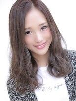 アグ ヘアー エクラ 津志田店(Agu hair eclat)グレージュ×カールミディ