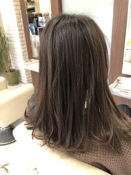 ヘアーガーデン ハッカドウ(hair garden 髪花堂)の写真/100%天然ヘナを使用◎染めるたびに健やかに自然な艶髪へと導く!徹底的にこだわったオーガニック薬剤を使用*