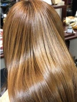 ベース 美容室BASEの写真/【大宮駅西口5分】髪のうねり、クセの部分に合わせて縮毛矯正が可能に☆朝のセットがしやすいスタイルへ◎