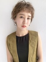 ノイ(noi)#noi_style シナモンベージュショート