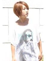 【真木よう子さん風】小顔カット×大人かわいい×ショートヘア