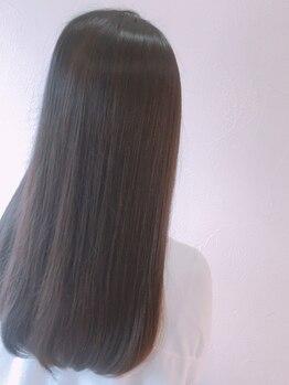 ウィスプ ナチュレ(WHISP nature)の写真/まっすぐなだけじゃない憧れのスタイルを叶えるための縮毛矯正☆忙しい朝が楽になる&1日まとまる髪に♪