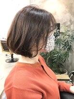 エトネ ヘアーサロン 仙台駅前(eTONe hair salon)20代30代40代/前下がりレイヤーボブ