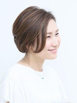 コスモス ヘアーアンドビューティー(Kosmos HAIR&BEAUTY)の写真/≪すっきりショートヘアでスタイルチェンジ☆≫毎朝のセットが苦手な方も楽々スタイリング♪