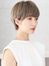ネックス(nex)【nex表参道】大人かわいいイメチェンひし形ショートボブ前髪