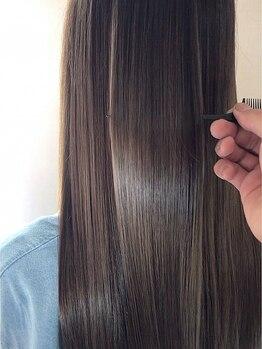 """ヴェイン(VEIN)の写真/驚異的なダメージ補修×クセ・ボリュームのコントロールが叶う、""""変化を実感できる""""ワンランク上の髪質改善"""
