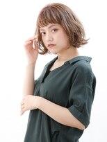 オーブ ヘアー アムール 学芸大学店(AUBE HAIR amour)【AUBE HAIR】大人愛されフリンジミディ