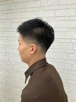 ヘアーグルーミング アイム(Hair &Grooming aim)【メンズカット】黒髪&スキンフェード