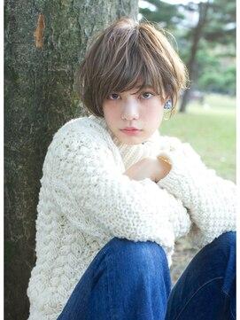 ローブ アオヤマ(LOAVE AOYAMA)【LOAVE】 / 外国人風 ショート / オリーブグレージュ