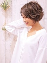 +animo大沢+ひし形シルエット☆マニッシュショート♪m-3