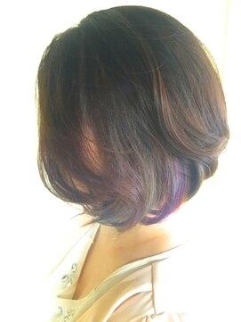 ニコアヘアデザイン(Nicoa hair design)ハッピーなカラー