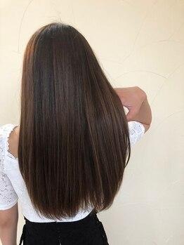 デュールウェスト(Duul West)の写真/今話題の新トリートメント『GLOBAL MILBON』でダメージを髪の芯から補修◎360°どこから見ても美しい髪へ★