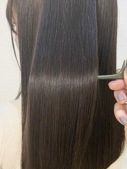 シュガー 盛岡(SUGAR)の写真/話題の髪質改善縮毛矯正取扱店☆柔らかな美髪を手に入れてクセ毛やスタイリングのお悩み解消へ♪
