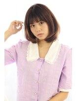 ヘアリゾート ブーケ(hair+resort bouquet)nami☆ふわふわボブ