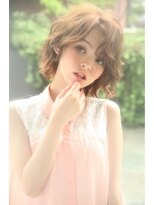 ダミア(DAMIA)6■ふわふわパーマで可愛く☆クセをいかした外国人風ボブ