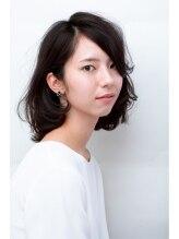 リリ(Riri)無造作な黒髪ボブ