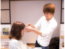 ヘアースタジオ ライト(HAIR STUDIO LIGHT)の雰囲気(圧倒的な美髪であなたを輝かせる【八幡西区/髪質改善/縮毛矯正】)
