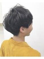 ☆刈り上げマッシュパーマ☆