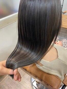 ボニータフレグランス 上野御徒町店(BONITA×fragrance)の写真/しっとり潤う髪質改善ヘアエステ[プリンセスケアTR]シルクの様な艶と手触りを叶える[TOKIOトリートメント]