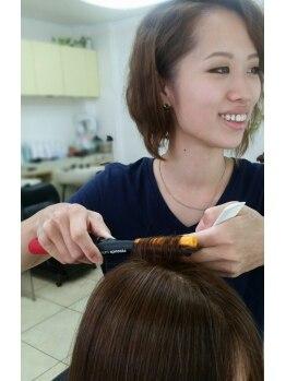 ヘアメイク イチゾー 高野店(Hair Make ICHIZO)の写真/くせ毛・うねりで思い通りにならないあなたに!髪のお悩みはICHIZOで解決!毎朝のセットが楽チンに♪