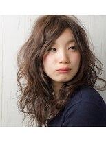 ハロ (Halo hair design)大人かわいいルーズセミディ