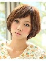ダミアバイルル(DAMIA by LuLu)28★カットで決まるショートマッシュボブ×スタイリングいらず!