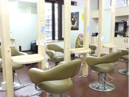 ヘアカラーアンドカットスタジオ シーアンドシー(HAIR COLOR&CUT STUDIO C&C)の写真