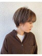 ページヘアー(PAGE HAIR)マニッシュショート