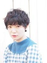 【kamiya】* マッシュショート × 黒髪パーマ