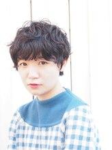 カミヤ(kamiya)【kamiya】* マッシュショート × 黒髪パーマ