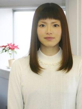 フォンデコ(Fondeko)の写真/東京・青山の有名店出身の実力派stylist在籍★ごまかしのないカット技術で、不安な前髪カットも失敗ナシ!