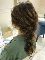 ルゥーダ ヘアアンドビューティー(Rouxda' hair&beauty)ゆるふわ編み下ろしスタイル