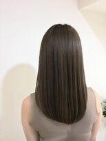ブレスヘアーデザイン(BLESS HAIR DESIGN)フォギーベージュ×髪質改善で艶髪