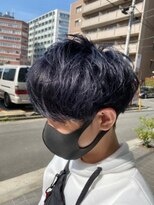 マッシュレイヤー×ラベンダーブルー【LODAT横浜】