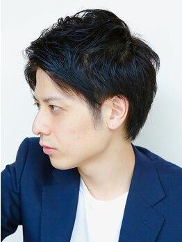 モダニカ(Modanica)の写真/【MEN'Sパーマ+カット+Tr¥7500/カット+シャンプー¥3600】カット技術にこだわるスゴ腕stylistのいるサロン!